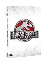 JURASSIC WORLD CUATRILOGIA DVD JURASSIC PARK + WORLD NUEVO ( SIN ABRIR ) //