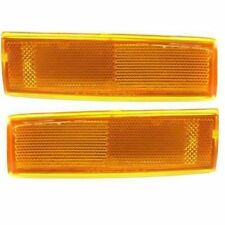New Chevy S10 Pick Up Truck 82-93 Right & Left Pair Set Side Marker Lights Lamps