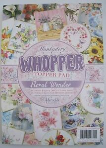 HUNKYDORY WHOPPER TOPPER PAD - FLORAL WONDER