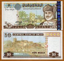 Oman, 10 Rials, 2000, P-40, UNC