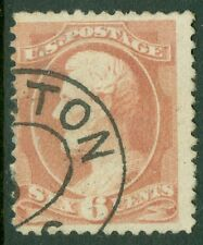 USA : 1881-82. Scott #208 Used. Nice color. Catalog $110.00.