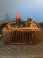 Vintage RCA Victor Record Player Model 45-ey-2 For Parts/Repair Powers ON AS IS