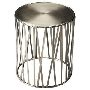 Butler Kruse Iron Drum Table, Metalworks - 3325025