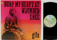 GILA-Bury My Heart At Wounded Knee-vinyle Presque comme neuf | LP GERMANY > 1973/WB 46 234