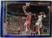 JAMES HARDEN 2019-20 Panini NBA Hoops PREMIUM STOCK Courtside BLUE PRIZM SP 🔥🔥