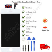 For iPhone 6 White LCD Display Touch Screen Digitizer + Tools