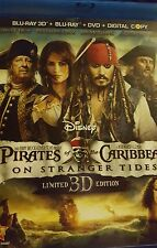 Pirates of the Caribbean: On Stranger Tides (Blu-ray/DVD, 3-D, 5-Disc , No DC