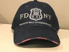 FDNY Police NYC Fire Department New York City Brooklyn Hat 9/11Memorial Cap NEW