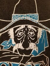 Vtg 90s Hanes t shirt M/L Mexican Food Dothan Alabama taco faded black burrito
