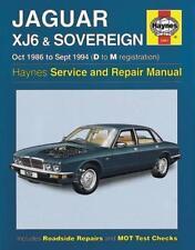 Jaguar Xj6 & Sovereign Manuel Atelier Propriétaire (Haynes Service & Repair