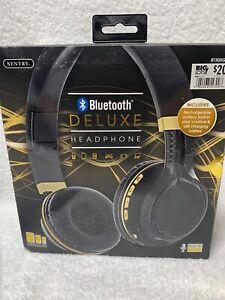 NIB Sentry Bluetooth Deluxe Headphones BT300