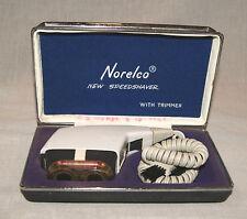 Vintage Norelco Speedshaver With Trimmer Electric Shaver Razor - It Works