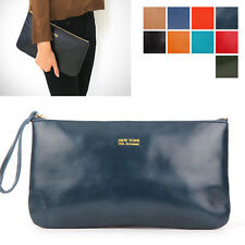 New Womens Genuine Leather bag Purse, Wallet, Clutch, medium Pouch [WB1260]
