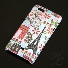 Sony Xperia Miro ST23i Hard Case Schutz Hülle Tasche Cover Etui Paris Eiffelturm