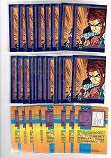 1X 1993 SUPERMAN Foes Of  PROMO SAMPLE PROTOTYPE Bulk Lot availabl LEX LUTHOR II