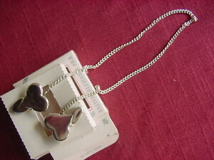 WMF Thread Augsburger a Silver Plated Napkin Holder Necklace