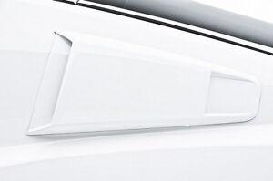 Fits 10-14 Mustang V6 GT 3dCarbon Urethane Quarter Window Scoops Type III 691630