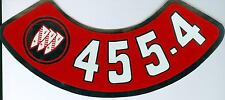 1968 69 70 71 72 73 74 BUICK  455-4V AIR CLEANER DECAL
