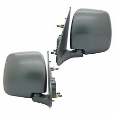 New Toyota HiAce H200 KDH200 05 1 Set Left & Right Hand Side Manual Door Mirrors