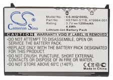 1250mAh Battery for HP iPAQ 100, 110, 111, 112, 114, 116, 114c Series