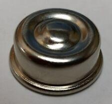 Garton Pedal Car Wheel End Cap 7/16 Axle (Nickel Plated)