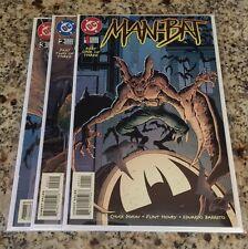 Man-Bat #1-3 (1996, DC) Complete Mini Series