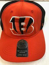 2092b630a17d54 NFL Cincinnati Bengals 47 Draft Day Closer Stretch Fit Hat One Size Orange