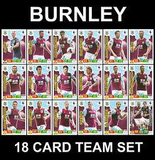 PANINI ADRENALYN Premier League 2019/20 BURNLEY 18 Card Full Team Set 19/20