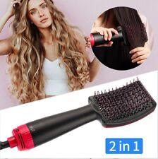 2 in1 Hair Dryer Brush Hair Dryer Straightener Comb Hot Air Brush Multifunctiion