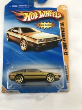 Hot Wheel 2010 New Model -1981 DeLorean Dmc-12-gold