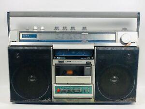 Vintage AIWA CS-660H 4 Band Boombox Stereo Radio Cassette Recorder DSL sound