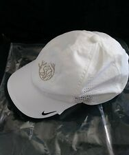 New listing New Nike Golf Adjustable Breathable Cap/Hat White Sides are Vented
