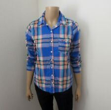 Hollister Plaid Button Down Long Sleeve Shirt Size Small