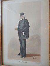 1885 BIZETSKI GRAVURE  de BY pour L'ALBUM COMIQUE Mr TRUBERT