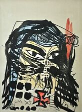 Jonathan Meese-heilbuttn 's dell'arte (formzucki) - handkl. litografia - 2012