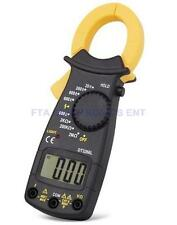 AC/DC Multimeter Electronic Tester Digital Clamp Volt Meter Ohms Large Display