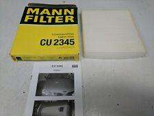 MANN CABIN / POLLEN AIR FILTER CU 2345 FITS LEXUS NISSAN