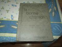 La Bonne Chanson Cinquieme album No.201 à 250 Charles-Émile Gadbois.