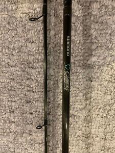 "Shimano Clarus 2 piece spinning rod 6'6"""