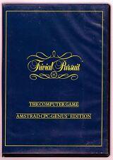 Trivial Pursuit Genius Edition (Domark) Amstrad Disk & Bande-GC & COMPLET