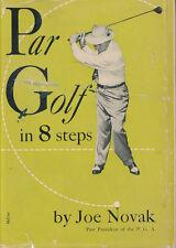 Par Golf in 8 Steps Joe Novak Signed Vtg Photo President PGA Guide 1950S 1952