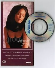 "WHITNEY HOUSTON I Will Always Love You JAPAN 3"" CD BVDA-47 Unsnapped Free S&H/PP"