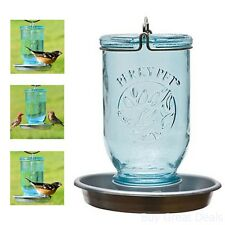 Perky-Pet Mason Jar Wild Bird Waterer 783 Seed Feeders Wildlife Accessories Yard