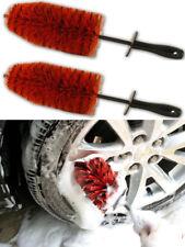 """*TWIN PACK* LARGE 18"""" Alloy Wheel Soft Cleaning Brush Detailing Valeting Daytona"""