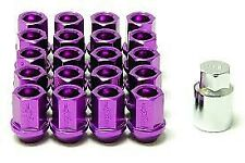 MXP X-DURA FORGED WHEEL OPEN LOCK LUG NUTS 12x1.5 ACORN RIM PURPLE 12X1.5 20pcs