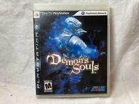 SONY PlayStation 3 PS3 Demon's Souls (BLACK LABEL VERSION & COMPLETE) Atlus
