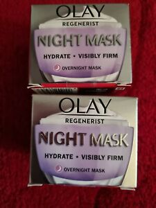 Olay Regenerist Overnight Miracle Firming Mask - 50ml ,2 boxes.free p+p