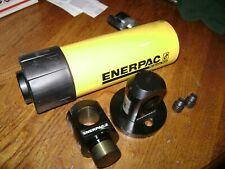 "Enerpac Rc-256 - 25 ton 6"" stroke Hydraulic Cylinder+1.25 hole clevis and saddle"