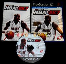 NBA 2K7 Ps2 Versione Ufficiale Italiana 1ª Edizione ••••• COMPLETO