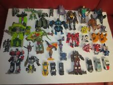 Transformers action figures lot of 36 used